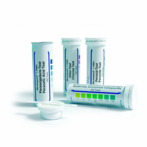 MERCK 110081 Peroxide Test Method: colorimetric with test strips 1 - 3 - 10 - 30 - 100 mg/l H₂O₂ MQuant™ Peroksit Testi Kolorimetrik 1 - 3 - 10 - 30 -